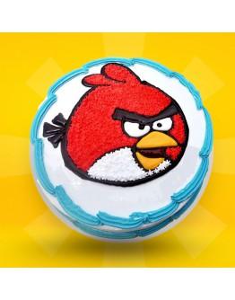 2D Cake - Angry Bird 1