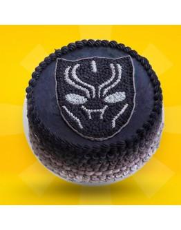 2D Cake - Black Panther