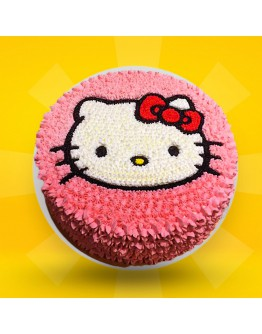 2D Cake - Hello Kitty 2