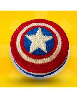 2D Cake - Captain America