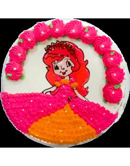 2D Jelly Cartoon Cakes ( Princess 2 )