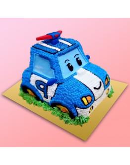 3D Cake - Robocar Poli