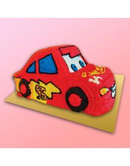 3D Cake - Lightning McQueen