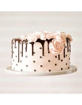 Drip Cake - Rosette Cake