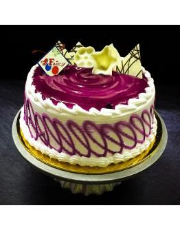 Blueberry Ice Cream Cake
