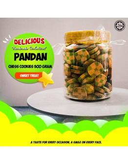 Pandan Chess Butter Soft Cookie