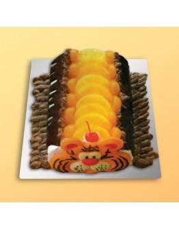 Cut Shape Cake - Black Forest 1