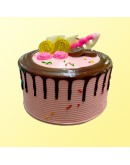 "6"" Chocolate Delicious - Drip Cake 2"