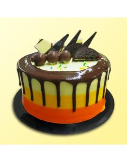 "6"" Chocolate Delicious - Drip Cake 3"