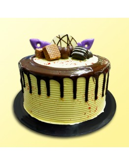 "6"" Chocolate Delicious - Drip Cake 6"