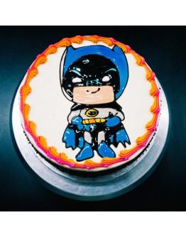 Piping Jelly Cake ( Batman 1 )