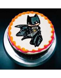 Piping Jelly Cake ( Batman 4 )