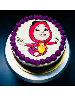 Piping Jelly Cake ( Boboi Boy 4 )