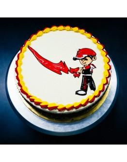 Piping Jelly Cake ( Boboi Boy 5 )