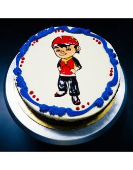 Piping Jelly Cake ( Boboi Boy 2 )