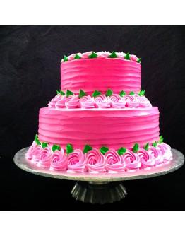 Pink Blush Wedding Cakes